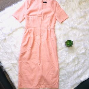 Dresses & Skirts - Peach Light Pink Maxi Dress